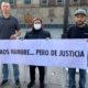 El Mijis y Lebarón inician huelga de hambre frente a Palacio Nacional
