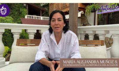 vice pdta de ecuador en congreso de mujeres católicas