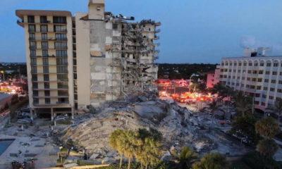 Colapsa edificio en Miami Beach; un muerto y 50 desaparecidos