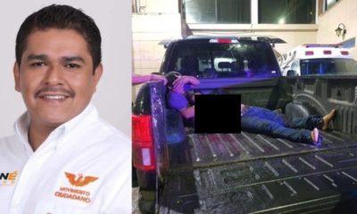Asesinan a candidato en Veracruz. Foto: Twitter