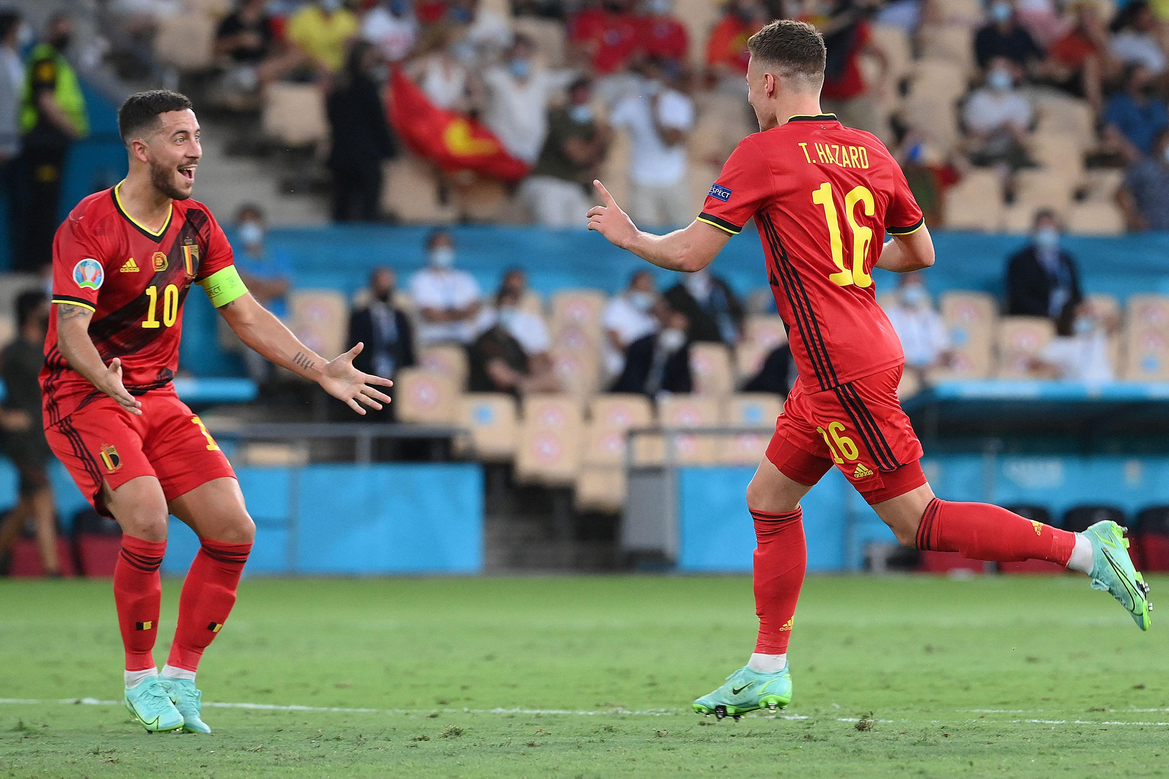 Bélgica a los cuartos de final. Foto: Twitter
