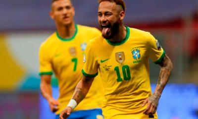 Brasil se impuso a Venezuela. Foto: Twitter