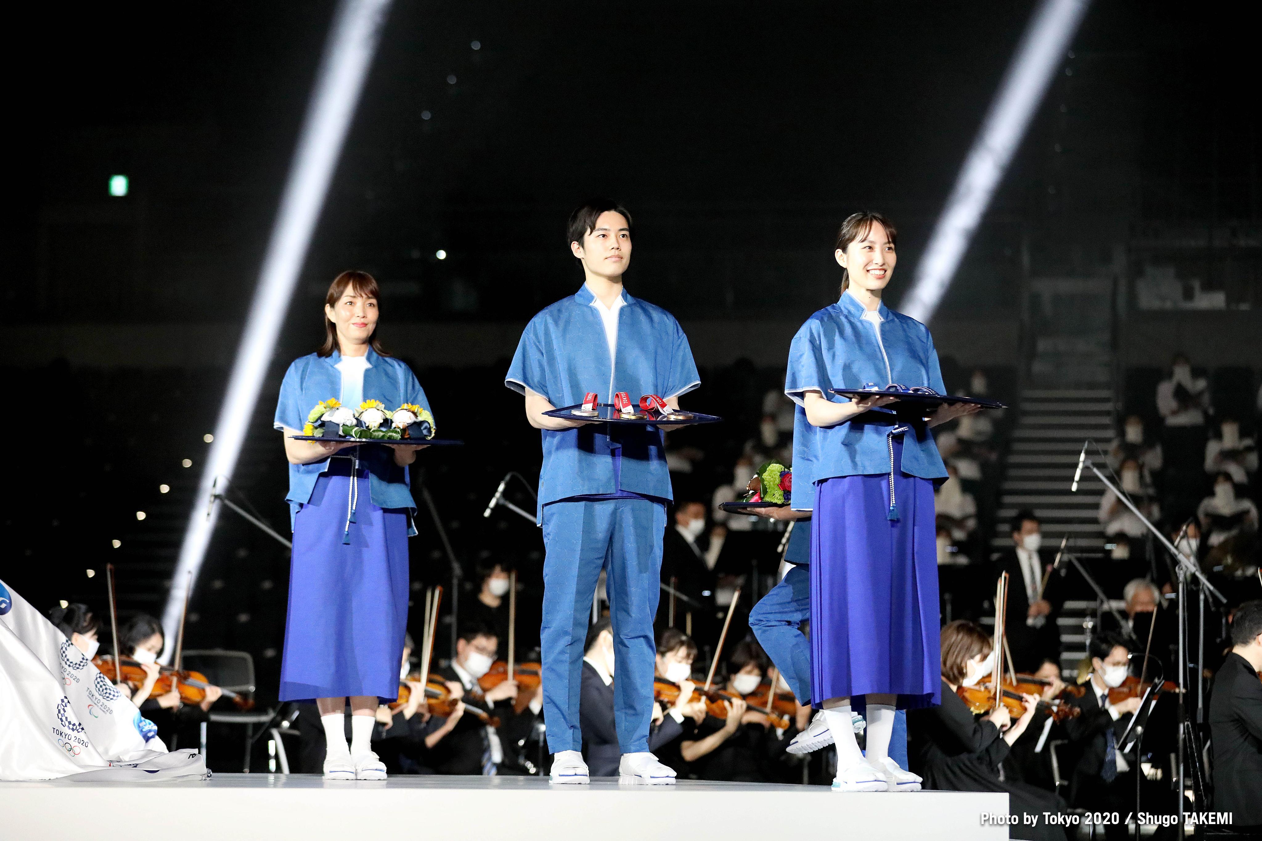 Con público en las gradas durante Juegos Olímpicos. Foto: Twitter