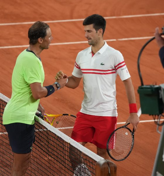 Djokovic a la final de Ronald Garros. Foto: Twitter