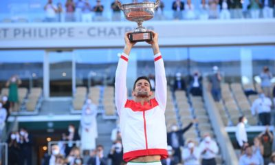 Djokovic se llega Ronald Garros. Foto: Twitter
