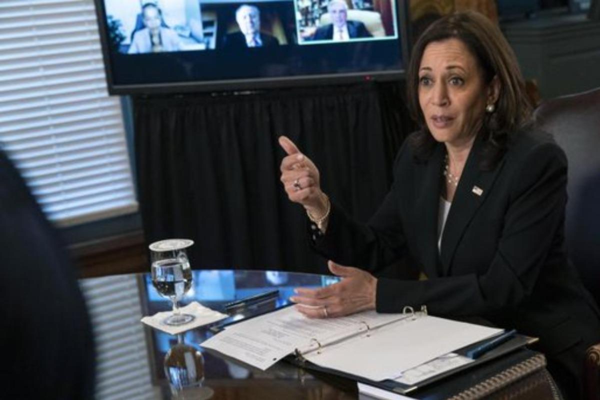 Visita de Kamala Harris al Senado no estaba programada: Ebrard