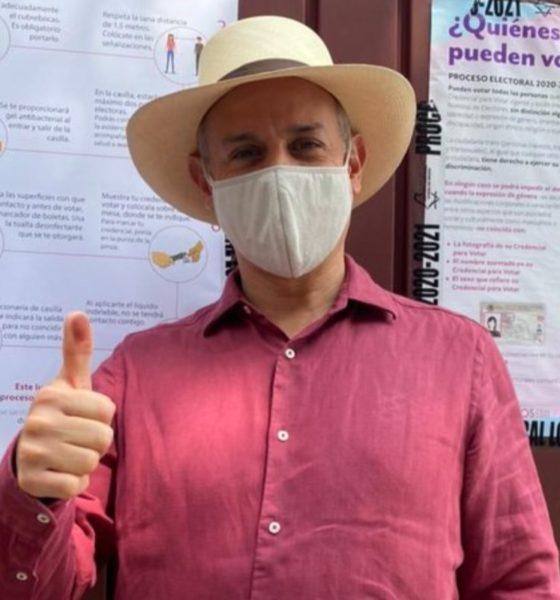 Pide López-Gatell acudir a las urnas con cubrebocas, usar gel y sana distancia