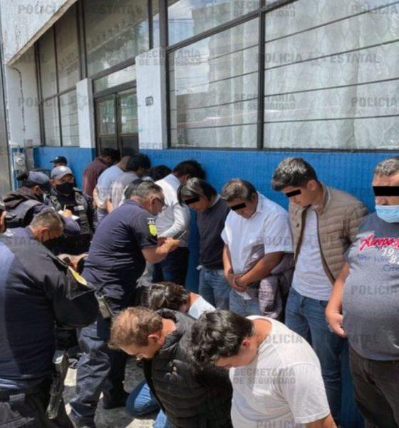 Detienen a 15 por agresión en casilla electoral de Metepec, Estado de México