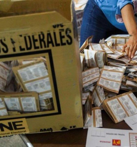 INE prevé recuento de 97 mil paquetes electorales