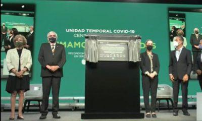 Clausuran Unidad Temporal Covid-19 en Citibanamex por baja de hospitalizaciones