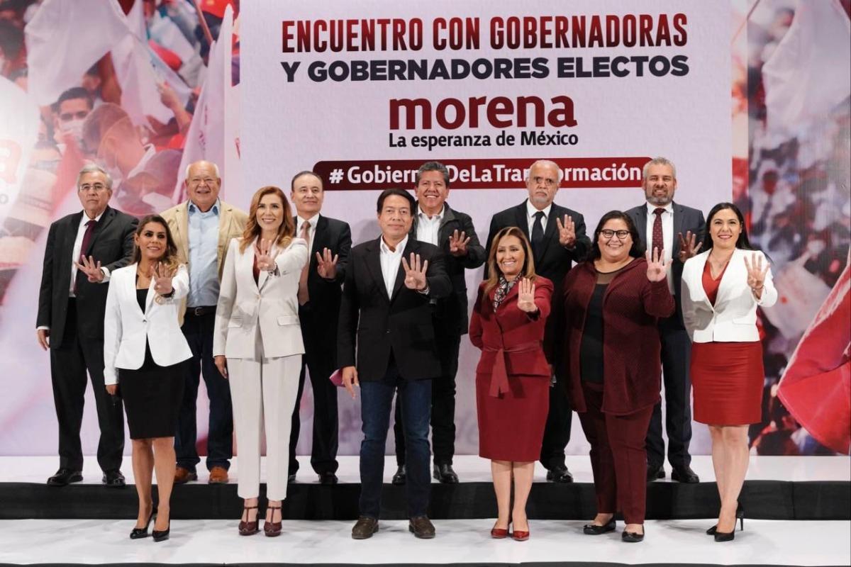 Perfilan gobernadores de Morena desaparición de la Conago