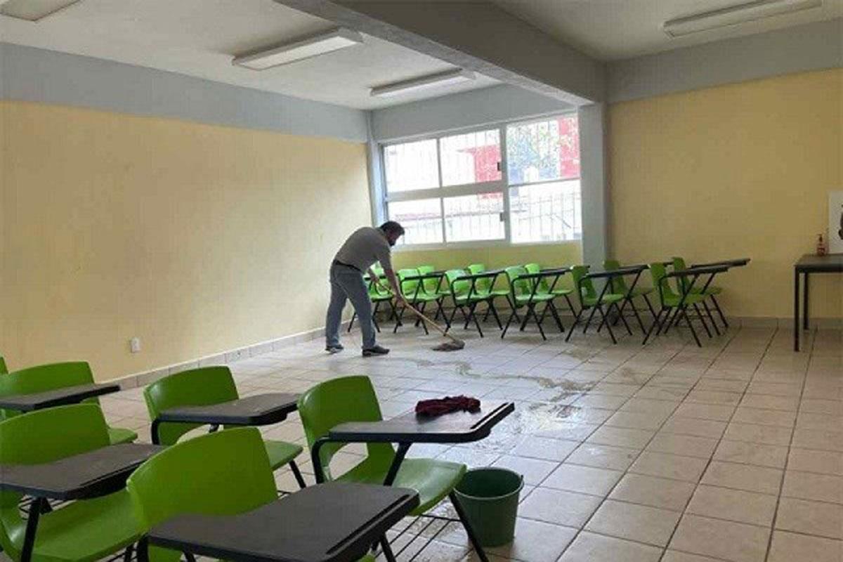 Suman ocho casos de Covid-19 en escuelas de CDMX