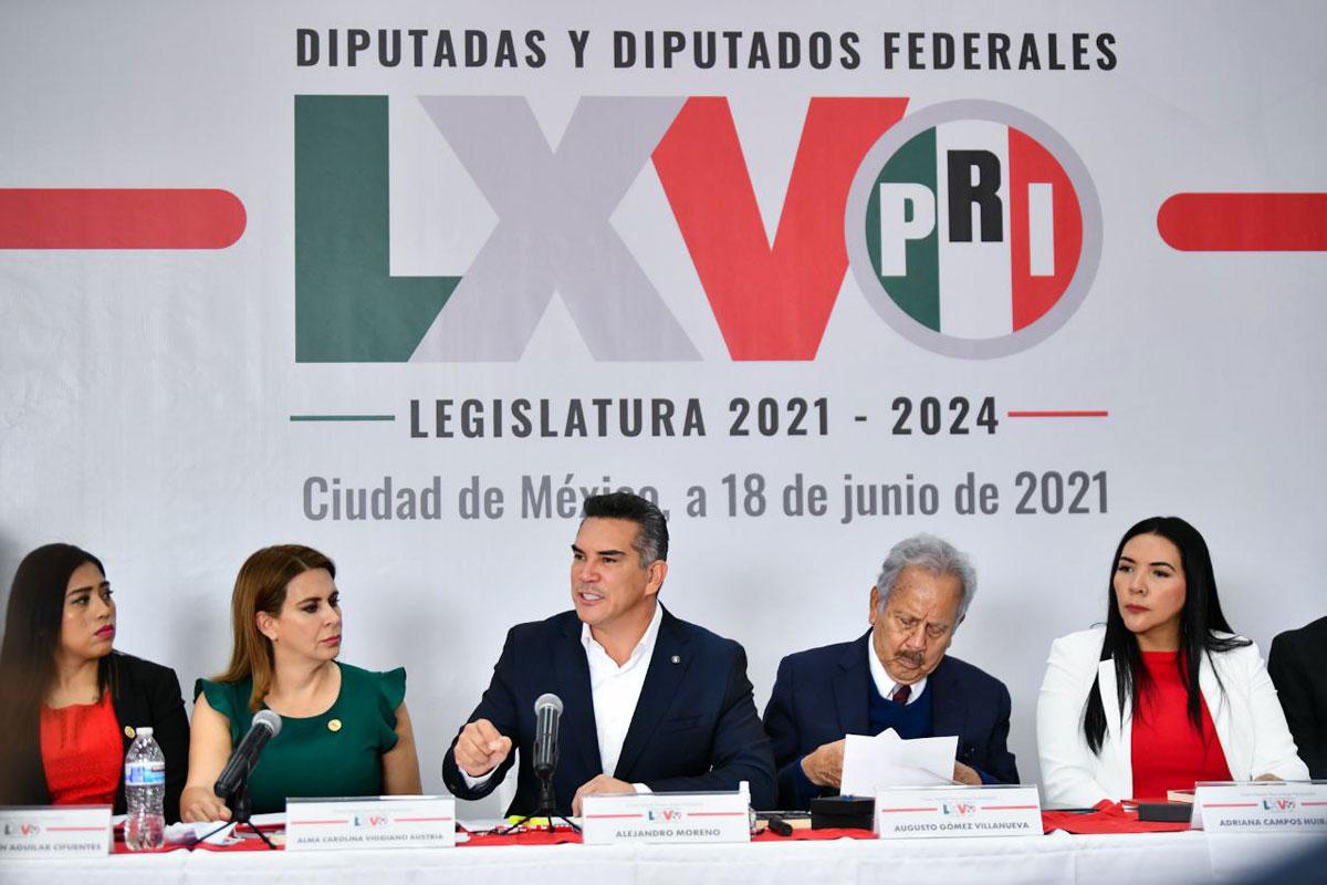 Rubén Moreira, nuevo coordinador del PRI en la Cámara de Diputados