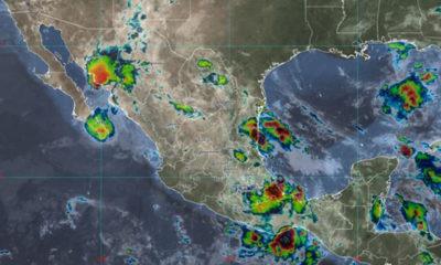 Tormenta tropical Enrique se debilita