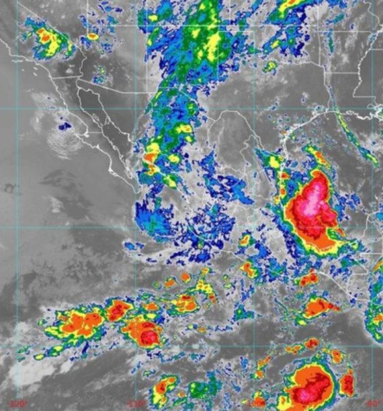 Tormenta tropical Enrique provoca lluvias en el país