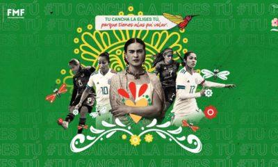 Frida Kahlo y selección femenil. Foto: Twitter