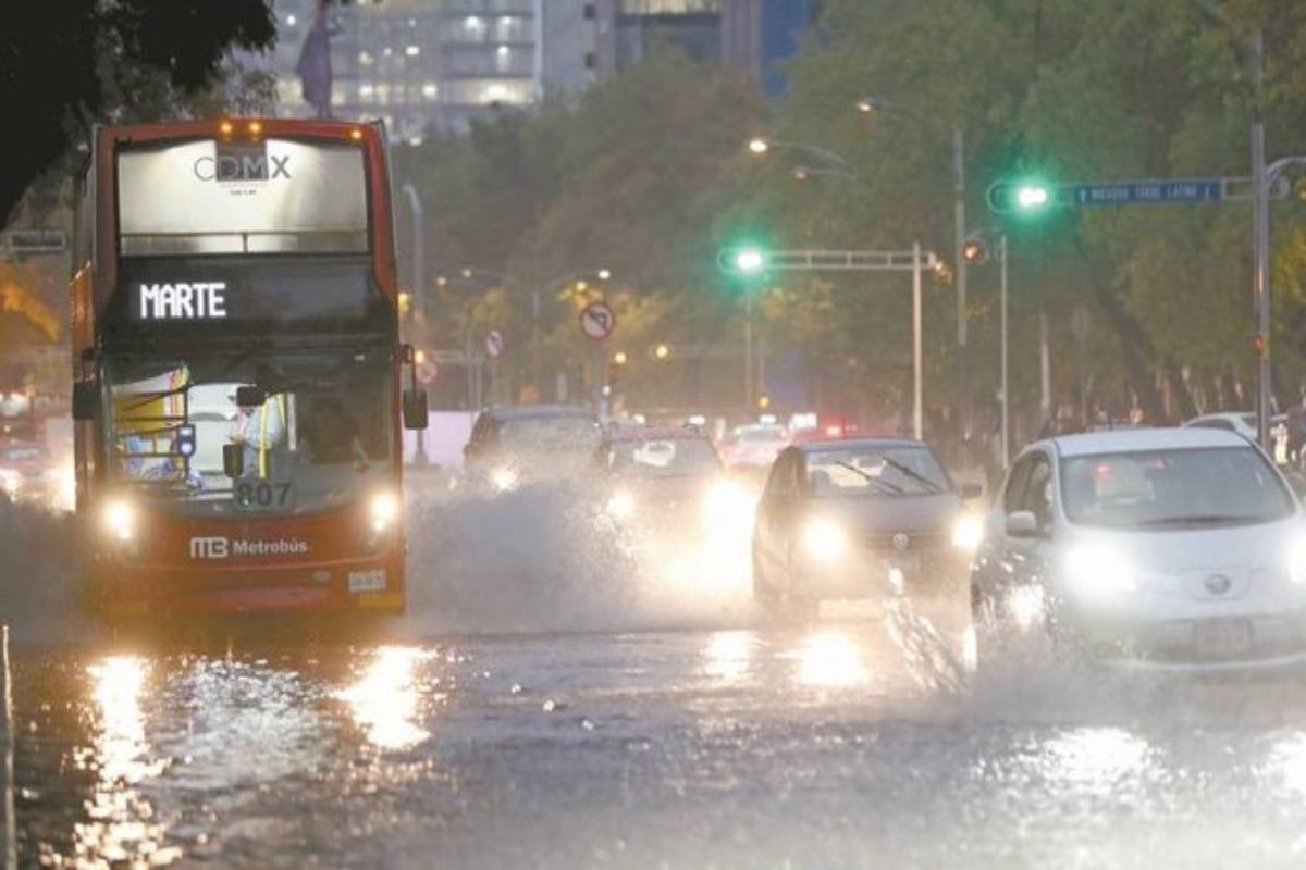 Activan alerta amarilla por lluvias en ocho alcaldías de la CDMX