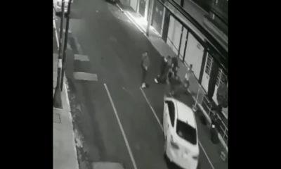 Helguera se entregó tras atropellar a jóvenes. Foto: Twitter
