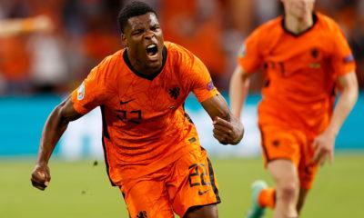Holanda e inglaterra arrancaron la Eurocopa. Foto: Twitter