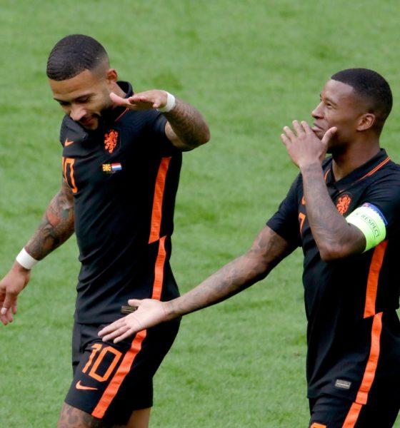 Holanda golea a Macedonia. Foto: Twitter Holanda