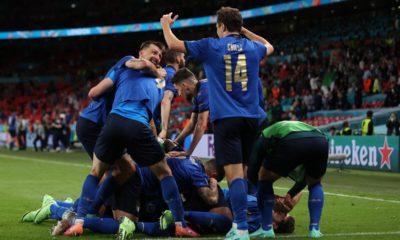 Italia a los cuartos de final de la Eurocopa. Foto: Twitter
