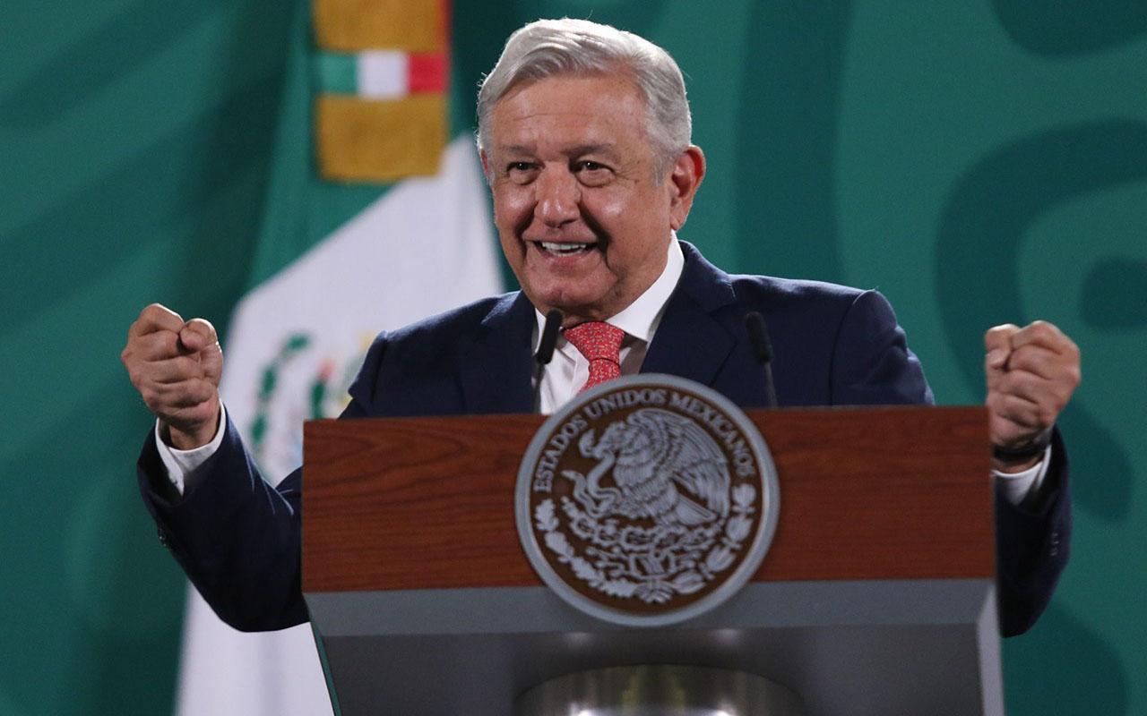 """""""Feliz, feliz, feliz"""", López Obrador por resultado electoral"""