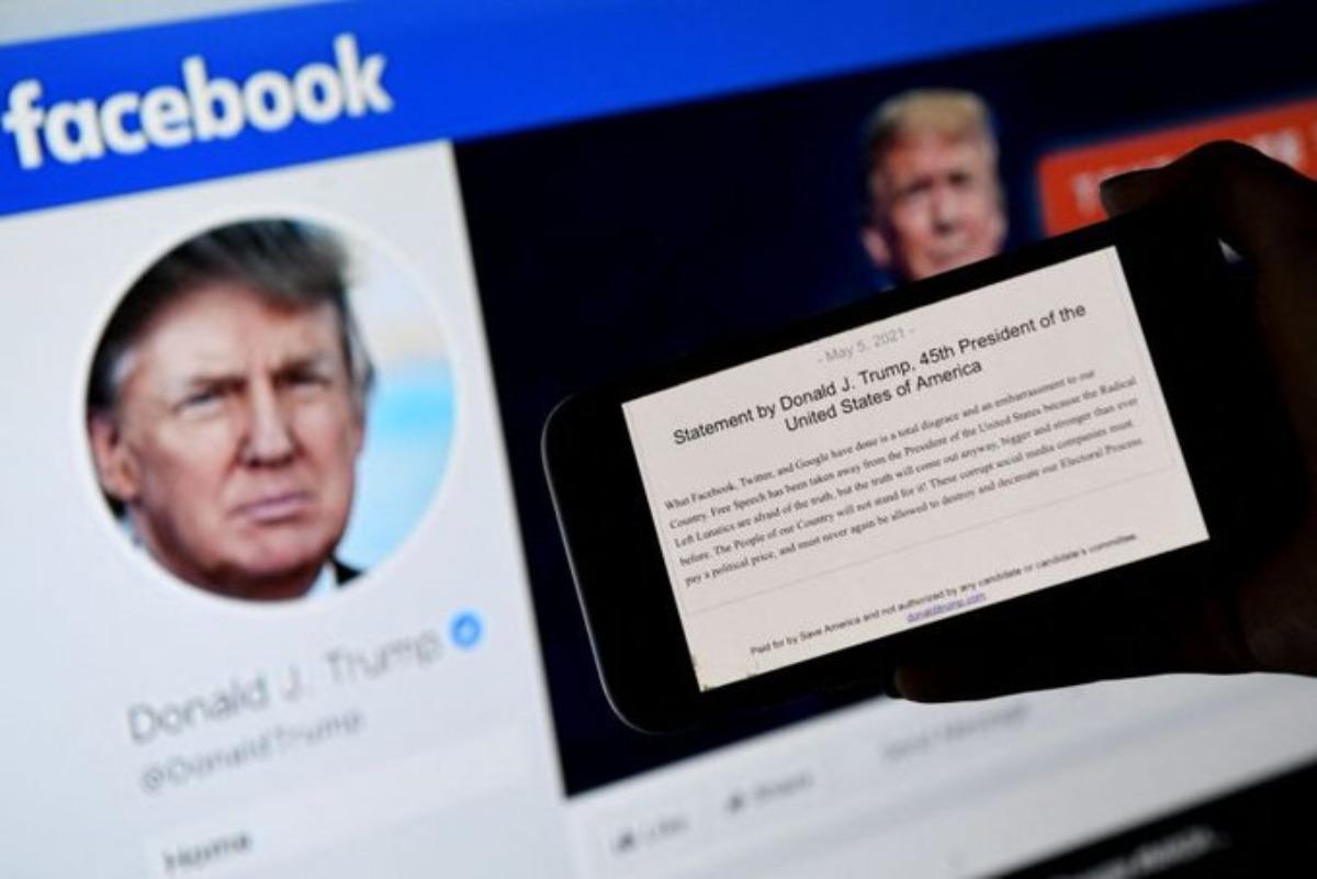 Facebook suspende por dos años cuenta de Donald Trump