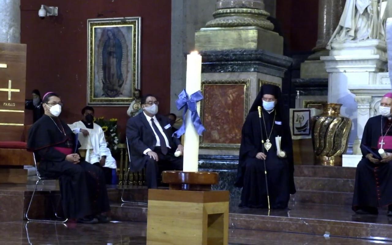 Realizan jornada de Oración Interreligiosa por la Paz