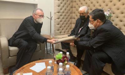 Cardenal Pietro Parolin está en México
