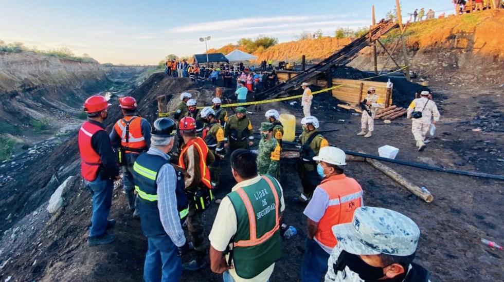 Rescatan a una persona sin vida tras accidente en Mina. Foto: Twitter
