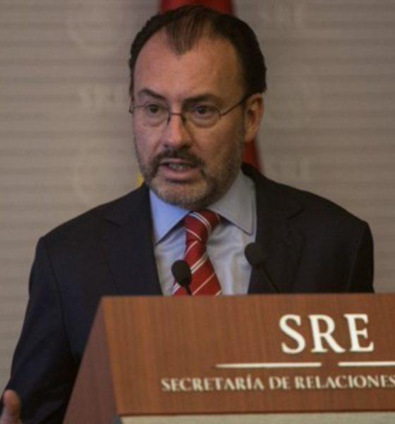 Se defiende Videgaray; impugnará sanción de la Función Pública