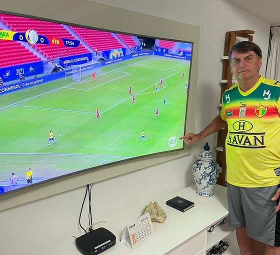 Se burla Bolsonaro de los que criticaron la Copa América. Foto: Twitter