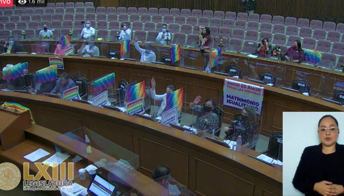 Se reforma el matrimonio en sinaloa para legalizar la unión de personas del mismo sexo