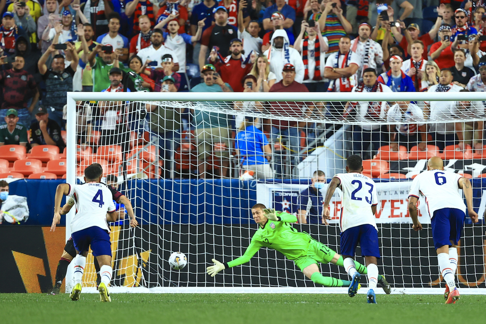 Selección Mexicana perdió. Foto: Twitter