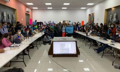 Se manifiestan contra el aborto en el Congreso de Hidalgo
