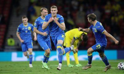 Ucrania, a los cuartos de final de la Euro. Foto: Twitter