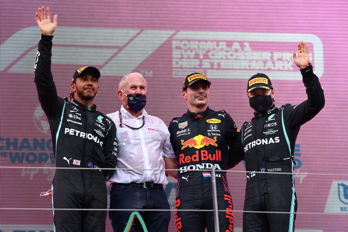 Valtteri Botas finalizó en el tercero. Foto: Twitter