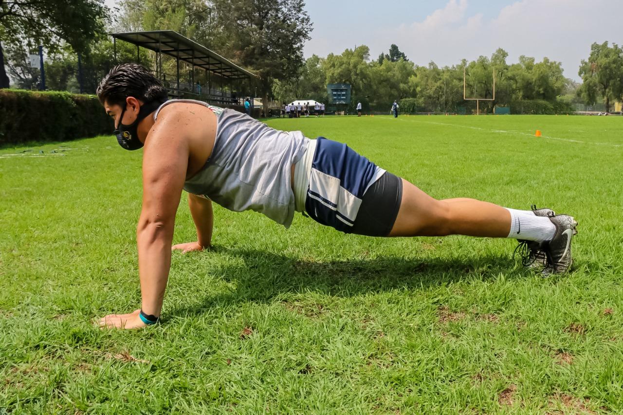 Regresa Pumas CU a entrenamientos presenciales. Foto: Especial