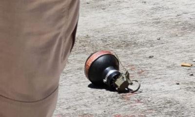 Arrojan bomba de humo a casilla en Naucalpan