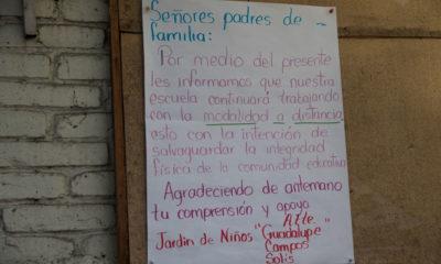 """""""No podemos obligar que regresen a clases presenciales"""": López Obrador"""