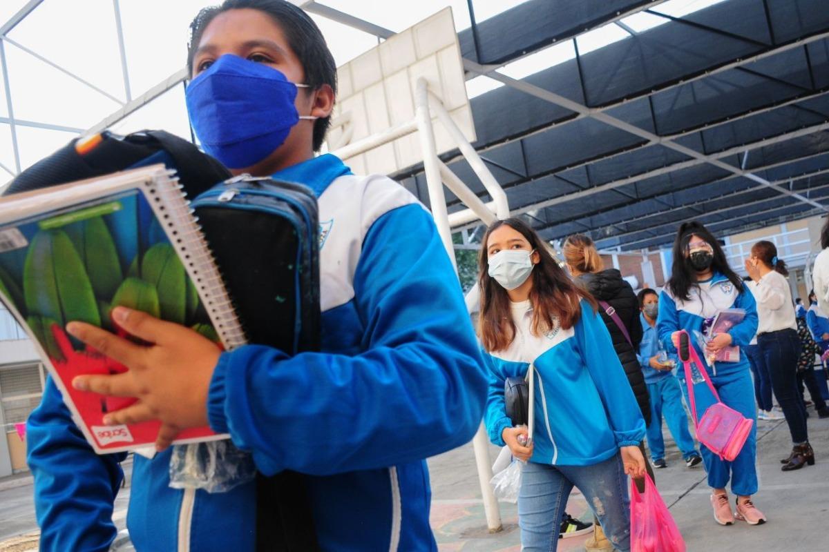 En regreso a clases presencial, abren mil 113 escuelas con 80 mil alumnos en CDMX