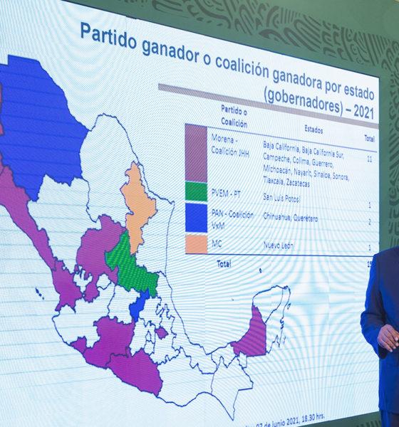 """""""Nos fue 're mal' en las elecciones"""", ironiza López Obrador"""