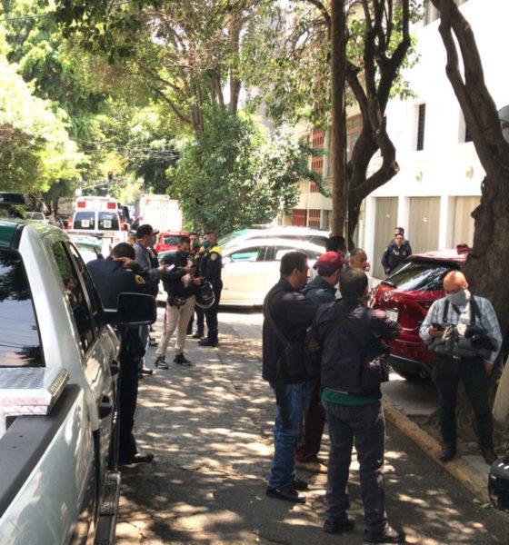 Mujer cae del sexto piso en pleno macro simulacro en alcaldía BJ