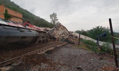 Vandalismo provoca accidentes ferroviarios; causa descarrilamiento en Jalisco