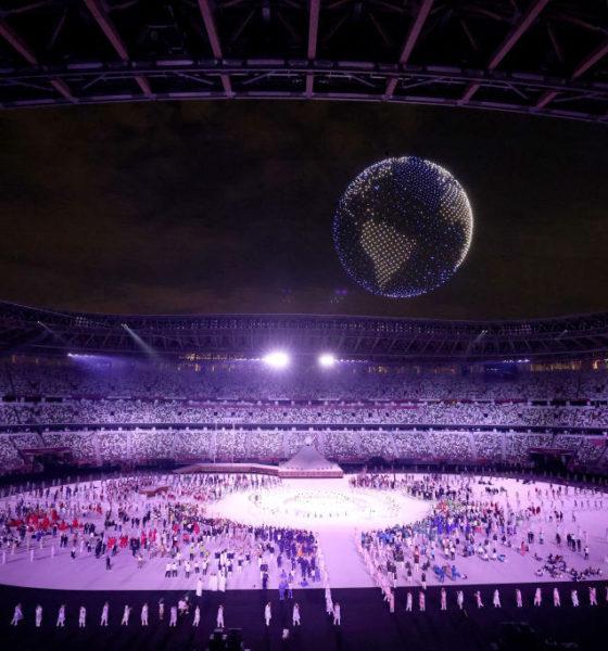 Apertura de los Juegos Olímpicos. Foto: Twitter @juegosolimpicos