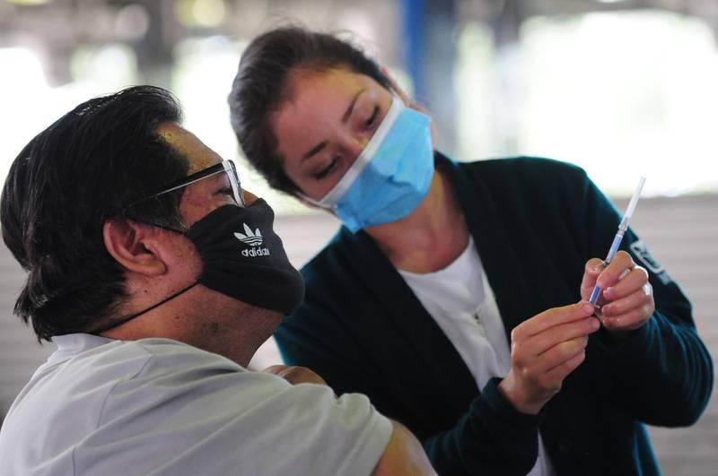 Avanza vacunación contra Covid en México. Foto: Cuartoscuro