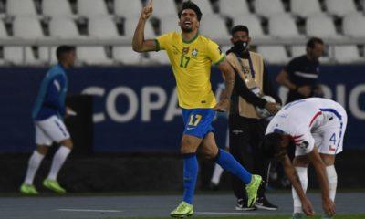 Brasil a las semifinales de la Copa América. Foto: Twitter
