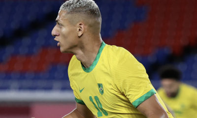 Brasil le pegó a Alemania. Foto: @juegosolimpicos