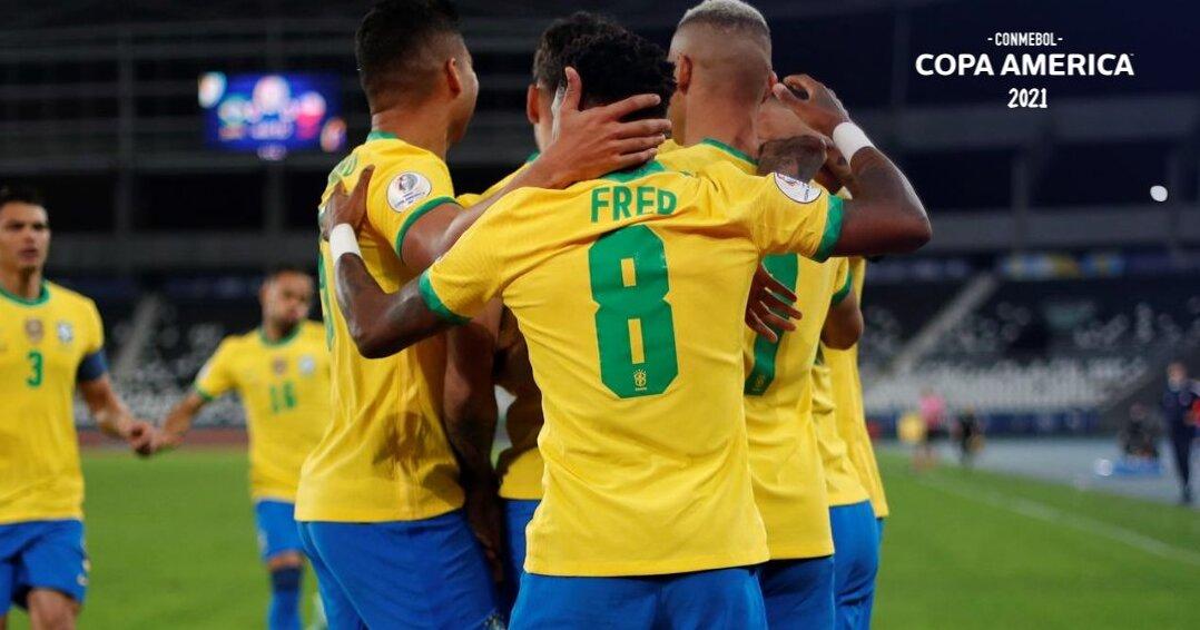 Brasil y Perú se verán las caras. Foto: Twitter