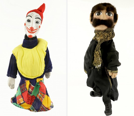 guiñol muñecos de guante